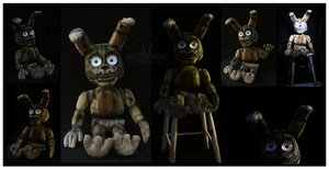 Lifesize Plushtrap FNAF Custom Plush by Nazegoreng