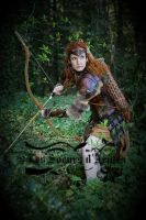 leather armor archer LARP by Lagueuse