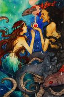 Little Mermaid - The Price of being Human by Qinni