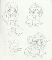 Sketch09 Harry Potter group by sarahsmiles916