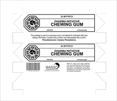 Dharma Initiative Chewing Gum by CmdrKerner