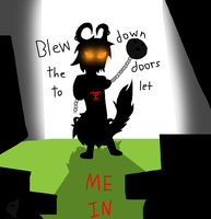 :VC: Blew Down the Doors To Let Me In by GlassFeline