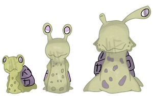 Dunse, Dunslime, and Stupidson by Snow-ish