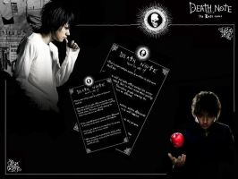 DEATH NOTE MOVIE WALLPAPER by Roxy005