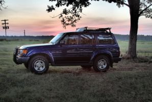 Landcruiser HDR by justinmatthew