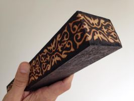 Pyrography Incense Box by tiagoianuck