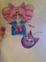 Chibiusa color by MarieZombie