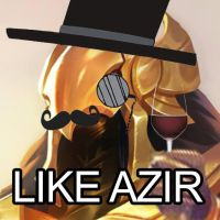 Like Azir by Angelwero