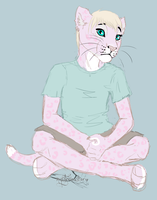 Michael as a child by mysteriousharu