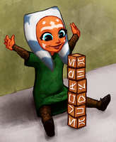 Babby Ahsoka by Tourbillon-da