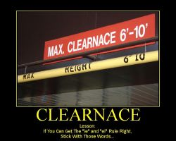 Clearnace by dburn13579