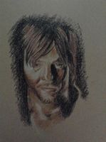 Daryl Sketch by Jamin95
