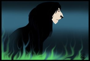 Lion Snape by dyb