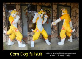 Corn Dog fullsuit by stuffedpanda-cosplay
