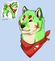 Shiba Inu Anthro Boy- Holly by Worldofwarcraftvamp