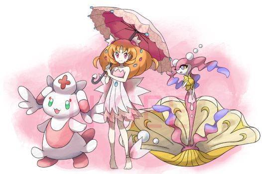 My fairy GYM leader by Nyjee