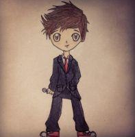 The 10th Doctor Chibi by Becca-Chan427
