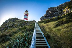 Stairs to the lighthouse by UberPickleMonkey