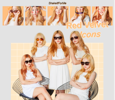++Icons | Pack | Red Velvet | by ShakeItForMe
