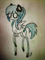 .:P.Commission:. Minty Boww by Ice-Dreams