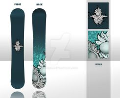 Snickers snowboarD by JRMN