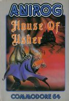 House of Usher Front Cover by derrickthebarbaric