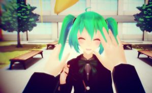 M-miku i don't see v-very well! by Ene-chan144