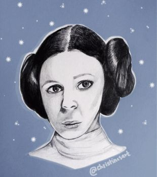 Princess Leia by ceedeng