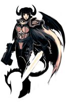Devil Sister of Battle by DxC by Q99