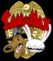 Sam and Max Logo by NeitherSparky