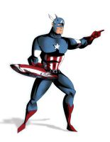 Capt America by Chronicle-l