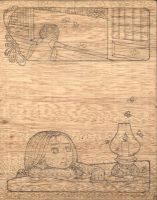On wood. by oyah
