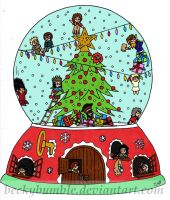 Snowglobe by BeckyBumble