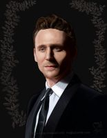 Tom Hiddleston - Black Series by boop-boop