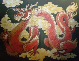 Chinese dragon by MaestraRhy