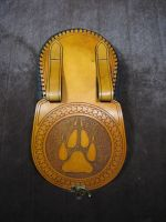 Leather Belt Pouch 02 by SMP70