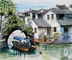 Suzhou, China by rojobe