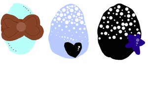 Adoptable Eggs OPEN 1 point each by Meadow-Leaf