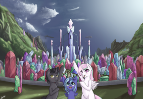 Welcome to the Antique Crystal Empire (AskTumblr) by NovaQuinmat