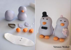 Bird Figurine by Verusca