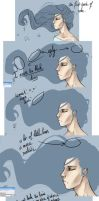 Hair step by step by Shiva-Anarion