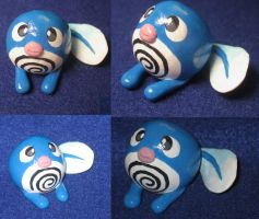 Poliwag figurine by zynwolf