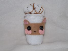 Kawaii Coffee Ornament by Mishaila