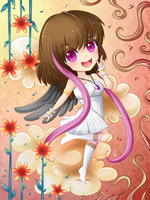 Sweet Angels contest prize!  Chiharu by Exceru-Hensggott