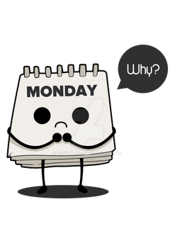 Why, you hate monday? by bibirockability