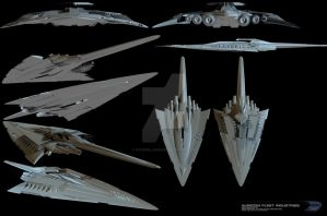 Ref sheet - Star Destroyer by FoxGirlJade