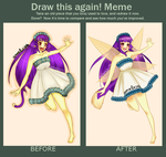 Before and after [meme] by Flyingwithyou