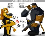 Mr and Mrs. BULL  -THE MOVIE- by ShoNuff44