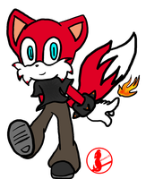 Young Fire Fox by elisonic12