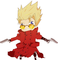 Vash The Stampede by Victordepaula